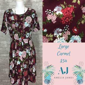 Amelia James Carmel Dress